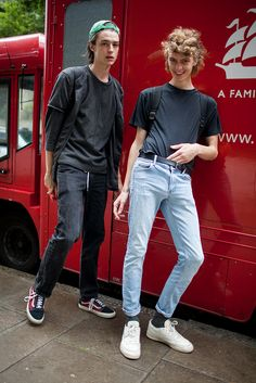 Street Style at London Collections: Men Spring 2017