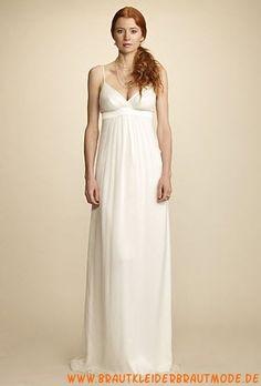 Sexy liebste Brautkleider aus Chiffon mit Schleife Berlin kaufen online