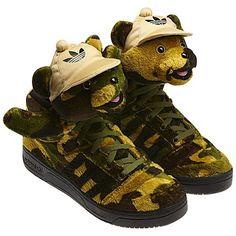 adidas jeremy scott bear ebay
