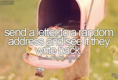 This would be fun (: #bucket list