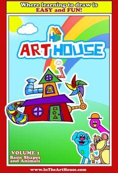 Art House - Volume 1: Basic Shapes and Animals www.InTheArtHouse.com http://www.amazon.com/dp/0615208185/ref=cm_sw_r_pi_dp_Nc9iub0GTGYN0