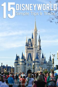 15 Simple Tips and Tricks to make your Disneyworld vacation a little bit better.