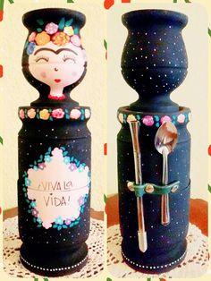 Souvenirs Paper Mache Bowls, Decorated Flower Pots, Decoupage Art, Painted Pots, Diy Clay, Hacks Diy, Bottle Art, Handicraft, Wood Art