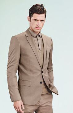 Sean OPry is in a Minimal Mood for HUGO by Hugo Boss Spring 2013 Campaign