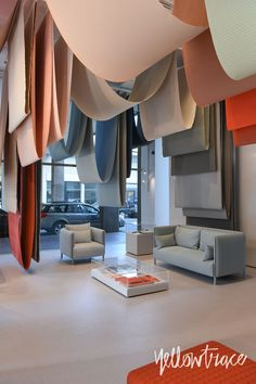 Milan Design Week 2017 Highlights, CHROMATOGRAPHY by Scholten & Baijings for Herman Miller and Maharam Textiles in Brera, Photo © Nick Hughes | #Milantrace2017