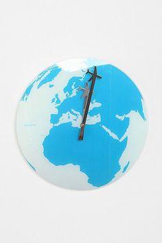 Around The World Wall Clock. I still need numbers tho!