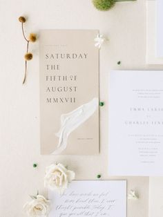 31 Modern And Edgy Wedding Invitations :: an airy neutral wedding invitation suite in white and tan is a chic idea Wedding Invitation Etiquette, Beach Wedding Invitations, Wedding Invitation Design, Wedding Stationary, Invites, Wedding Branding, Wedding Paper, Wedding Cards, Wedding Gifts