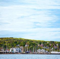 Looking out at the Apostle Islands, one of the region's most attractive small towns makes a great base for walking, biking and sailing as well as touring the plentiful fruit orchards on Wisconsin's Lake Superior shore.
