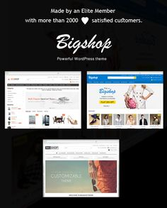 Multi-Purpose Responsive WordPress & WooCommerce Theme with eCommerce User Experience and extensive functionality. also, Utilizes many advanced plugin (Visual Composer). It's perfect & corporate layout for any kind of web shop, Personal Blogging, Portfolio website. Created a highly customizable and User/Developer friendly WordPress theme.