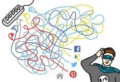 Ordnung ins Chaos bringen: Wie man verschiedene #SocialMediaKanäle miteinander in Verbindung bringt ohne sich zu verheddern erklären wir euch im #SocialPutz: https://de-de.facebook.com/randundband