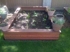 What a beautiful way to show off your garden this summer. A raised garden planter. Go ahead and get your hands dirty! Located in Calgary, Alberta. Supplied by Kayu Canada Inc.