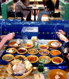 Lunch in Marrakech, Morocco