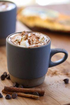 Crock Pot Mexican Hot Chocolate [ MexicanConnexionforTile.com ] #food #Talavera #Mexican