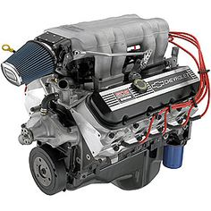 Option 1: GM Performance 502 Ram Jet Engine