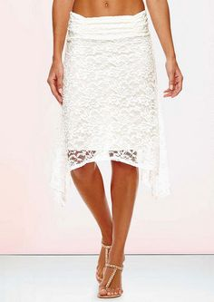 Celine Lace Handkerchief Skirt - Skirts - Whats New - Alloy Apparel