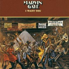 Marvin Gaye - I Want You (used to think JJ did this album cover... yes I did!)