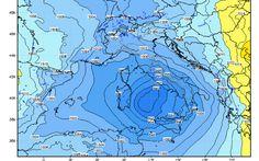 Tendenza Meteo prossimi giorni: Maltempo più Intenso da Martedì #meteo #italia #maltempo #tendenza