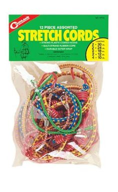 Masterlock 6 Piece Assorted Bungee Cord