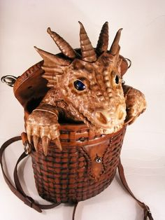 bob_basset: Dragon in basket. (I saw this on line a few years ago and really, really wanted it until I saw the price!  It was ridiculous!)