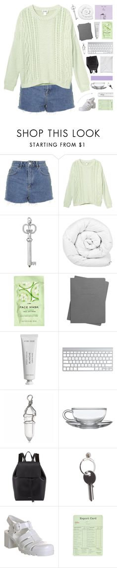 """you're like a wasted dream"" by moonlightxbby ❤ liked on Polyvore featuring Topshop, Monki, Brinkhaus, H&M, Shinola, Byredo, Mansur Gavriel, Maison Margiela and JuJu"