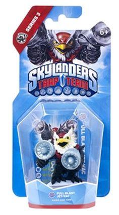 Skylanders Trap Team - Jet Vac Utilizzabile solo con il software Skylanders Trap Team. Non è compatibile con i software Skylanders Swap Force, Skylanders Giants e Skylanders Spyro's Adventure.