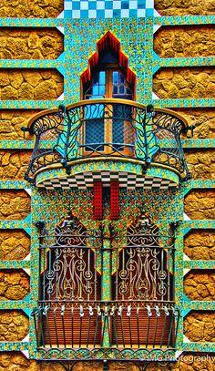 Casa Vicens, Gaudi, Barcelona 11/2012