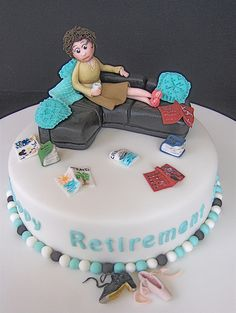 teacher retirement cake - Google Search