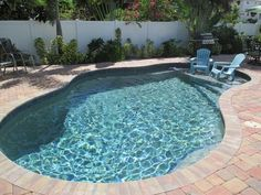 Admirable Plunge Pool Design Ideas You Definitely Like Garden Swimming Pool, Luxury Swimming Pools, Natural Swimming Pools, Dream Pools, Swimming Pool Designs, Natural Pools, Luxury Pools, Small Backyard Pools, Small Pools
