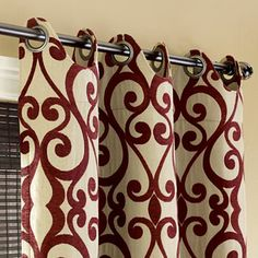 Love these curtains---