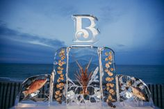 For the poolside party, the Breakers constructed an elaborate ice sculpture featuring an array of encased fish and seafood. Breakers Palm Beach, The Breakers, Summer Events, Summer Parties, Business Events, Corporate Events, Ice Sculptures, Outdoor Events, Event Photography