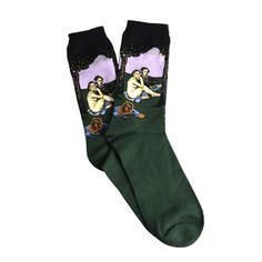 Famous Artist Socks - Ladies Crew Socks