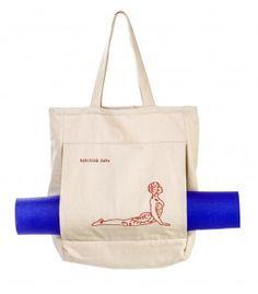 Yoga mat bag Bhujangasana www.bakchichbaba.com #bakchichbaba #yoga