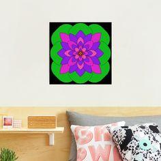 """Mandala Lotus Flower "" Photographic Print by Pultzar   Redbubble"