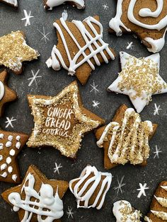 Make the holidays special with classic Gingerbread Cookies! Chocolate Marshmallow Cookies, Chocolate Chip Shortbread Cookies, Toffee Cookies, Spice Cookies, Almond Cookies, Ginger Bread Cookies Recipe, Yummy Cookies, Cookie Recipes, Cookie Ideas