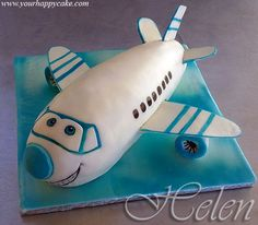 Airplane ckaes | Airplane cake