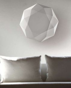 Lámpara Diamond techo y pared de Morosini