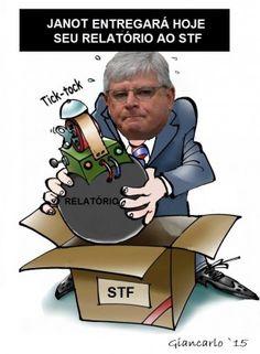Janot entregará seu relatório ao STF?!?!