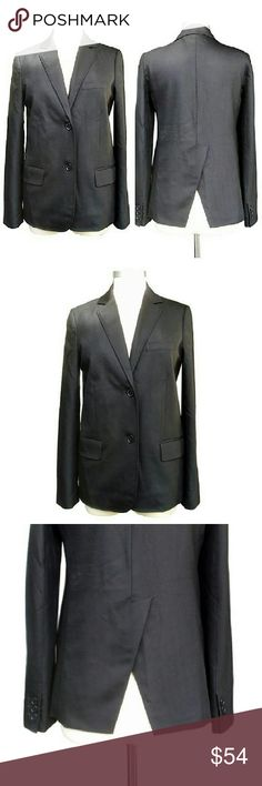 Marc By Marc Jacobs black blazer jacket Crisp and elegant, Marc By Marc Jacobs classic 2 button Blazer. Marked a size 4 but runs large. See measurements. This jacket has a slight sheen and a split tail vent giving this classic an Edge. In pristine condition. Wool metallic blend with a bit of Lycra. Shoulders - 16. Chest - 38. Waist - 36. Hips - 38. Length - 27. Sleeve - 25. Available on Yoox for $198 Marc By Marc Jacobs Jackets & Coats Blazers