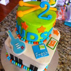Fresh beat band cake