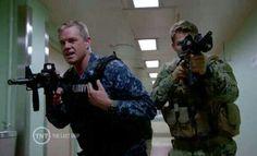 Capitan Chandler and Lt Danny Green,The Last Ship season 2,episode 3 photo