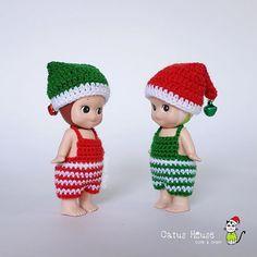 It's Time to Celebrate ชุดelf+หมวก ราคา 100 พร้อมส่งเย็นวันนี้ค่ะ บ้านนี้มีแต่ของน่ารัก  #Costumedoll_by_CatusHouse  Line id: catushouse  #sonnyangel #sonnyangelthailand #toythailand #outfitdoll #outfit #cute #handmade #crochet #handicraft #craft #doll #elf #christmas #sonnyangelkorea