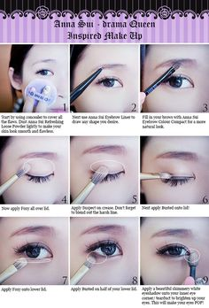 Sexy korean look Asian Makeup Tutorials, Korean Makeup Tips, Asian Eye Makeup, Korean Look, Korean Make Up, Ulzzang Makeup Tutorial, Japanese Makeup, Makeup For Beginners, Beginner Makeup