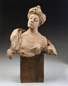 Madame Fenaille by Auguste Rodin, terracotta. Order from Maurice Fenaille. Auguste Rodin, Musée Rodin, Antoine Bourdelle, Rodin Museum, Art Français, Camille Claudel, Portraits, Michelangelo, French Art