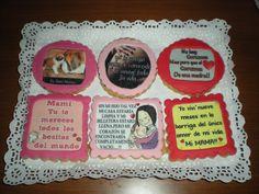 Galletas que hablan sobre la maternidad, para una reciente mamá!