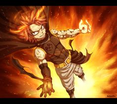 Fairy Tail - Etherious Natsu Dragneel by belucEn.deviantart.com on @DeviantArt