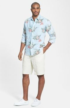 Tommy Bahama Sport Shirt & Shorts  available at #Nordstrom