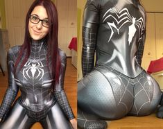 "1,288 Likes, 56 Comments - Kasai Cosplay (@kasaicosplay) on Instagram: ""I know how much you guys liked spider booty so here's more! ❤️ . Design by @brandonogilberto and…"""