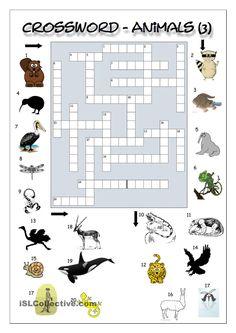 Household Items Crossword Puzzle worksheet - Free ESL ...