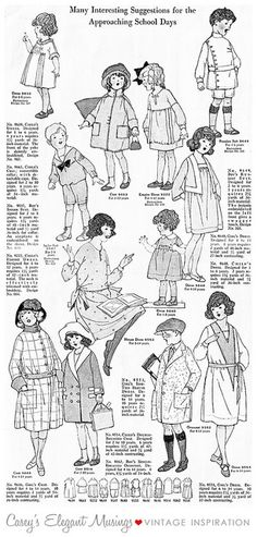 04.06.10 {1920 children's clothes} by elegant musings, via Flickr