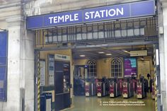 Temple Station *** Temple Church, a Londra la chiesa dei Templari *** #Londra #London #TempleChurch *** Ci troviamo nella City londinese e la chiesa dista soli 400 metri dalla Temple Station.